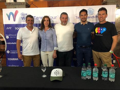 Pablo Chaiman, Clarissa Storni (Responsable Kirschbaum), Juan Riquelme, Martín Vasallo Arguello y Julian Pezzarini